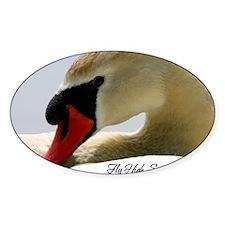 Swan Calendar Cover Decal