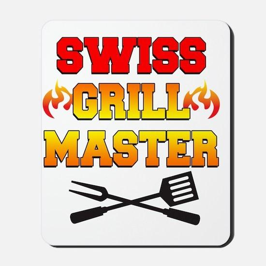Swiss Grill Master Apron Mousepad