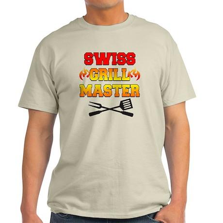 Swiss Grill Master Apron Light T-Shirt