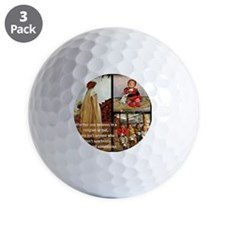 Kindness  Compassion Golf Ball