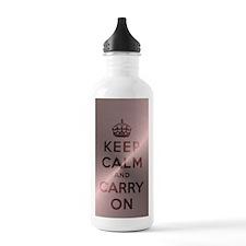 Metallic Pink Keep Cal Water Bottle