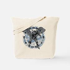 Eternal Edge-Battle Rages On Tote Bag