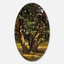 Monet Fontainebleau Forest Decal