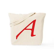 Atheism Scarlet Letter A Symbol Tote Bag