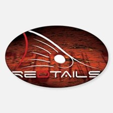 Redtails Lic Decal