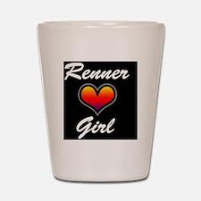 Jeremy Renner Girl! Shot Glass