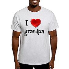 I Love Grandpa T-Shirt