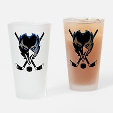New Mexico Ravens logo Drinking Glass