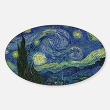 Starry ET Night Sticker (Oval)