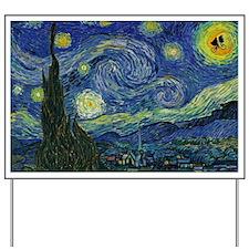Starry ET Night Yard Sign