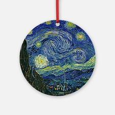 Starry ET Night Round Ornament