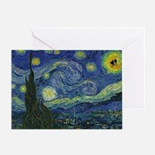 Starry ET Night Greeting Card