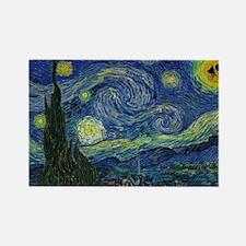 Starry ET Night Rectangle Magnet