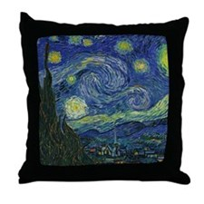 Starry ET Night Throw Pillow