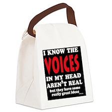 VoicesShoulderbag Canvas Lunch Bag