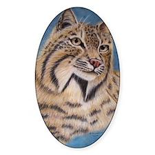 Bobcat Portrait Decal