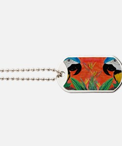 Parrot Heads Dog Tags