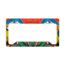 Parrot Heads License Plate Holder