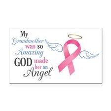 My Grandmother An Angel - Rectangle Car Magnet