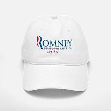 Anti-Romney Baseball Baseball Cap