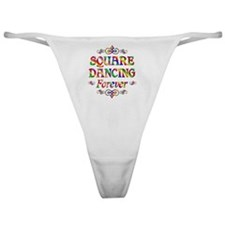 Square Dancing Forever Classic Thong