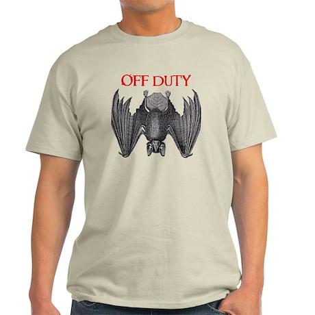 Off Duty Vampire Light T-Shirt