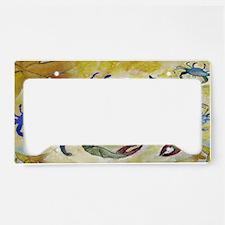Sandy Crab art License Plate Holder