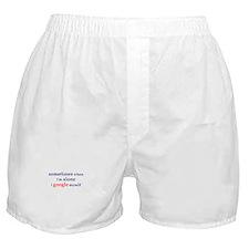 I Google Myself Boxer Shorts