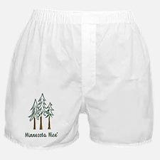 Minnesota Nice trees Boxer Shorts