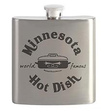 Minnesota Hot Dish  Flask