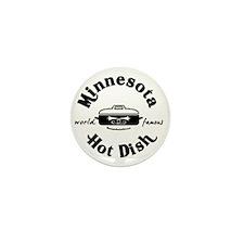 Minnesota Hot Dish  Mini Button
