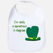 """I'm really a leprechaun in disguise"" Bib"