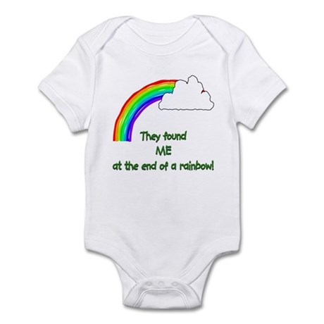 """found ME at the end of the rainbow Infant Creeper"