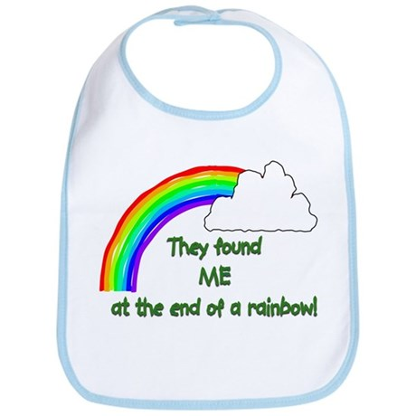 """They found ME at the end of the rainbow,"" Bib"
