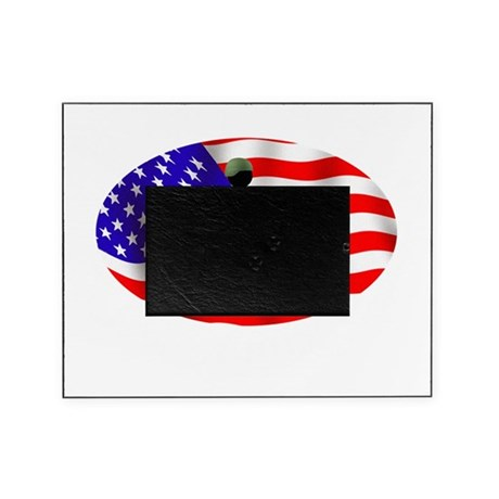 Proud Wounded Warrior WHT Picture Frame