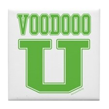 Voodoo University Tile Coaster