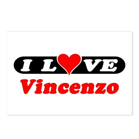 I Love Vincenzo Postcards (Package of 8)