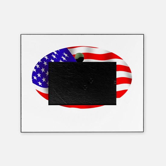 Proud Disabled Veteran WHT Picture Frame