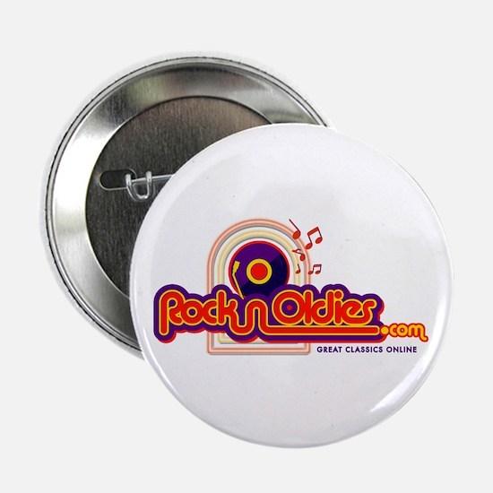 """RocknOldies.com 2.25"""" Button (10 pack)"""