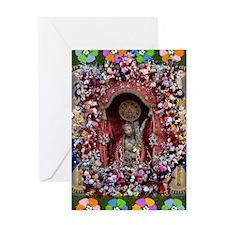 SANTO CRISTO Greeting Card