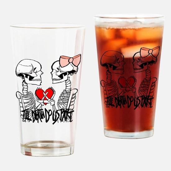 Till Death Drinking Glass