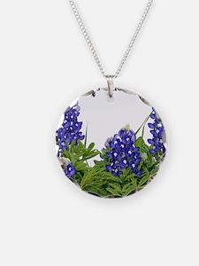 Texas Bluebonnets Necklace
