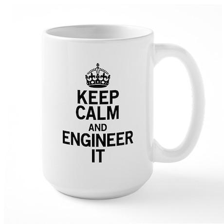 Keep Calm Engineer Mugs
