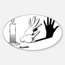 Shadow Rabbit WWW.LIGHTILLUSION.COM Decal