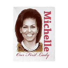 Michelle Obama Twin Duvet