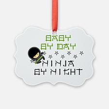 Baby Ninja Green Ornament