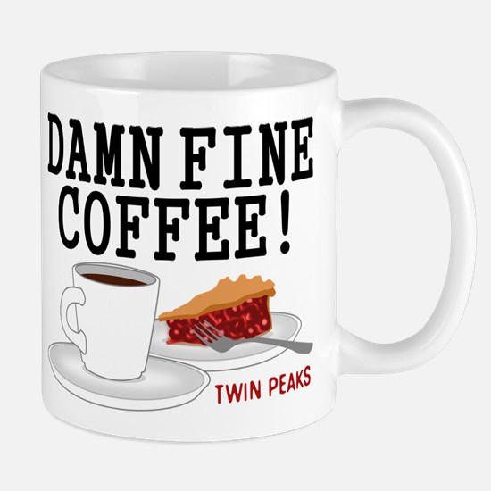 Twin Peaks Damn Fine Coffee Mugs