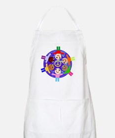 World Peace BBQ Apron