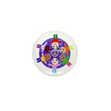 World Peace Mini Button (10 pack)