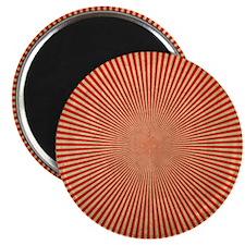 Red Starburst Magnet